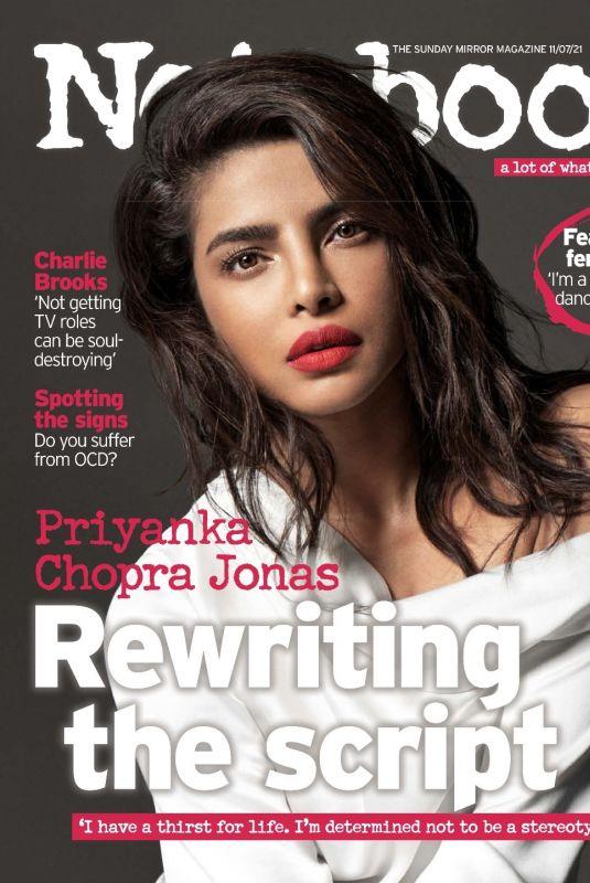 PRIYANKA CHOPRA in Notebook Magazine, July 2021