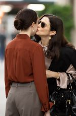RACHEL WEISZ and KITTY HAWTHORNE on the Set of Dead Ringers in New York 08/09/2021
