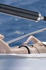 REBEL WILSON in Bikini at a Yacht in Portofino 08/07/2021