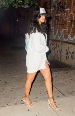 RIHANNA Out for Dinner in New York 08/02/2021