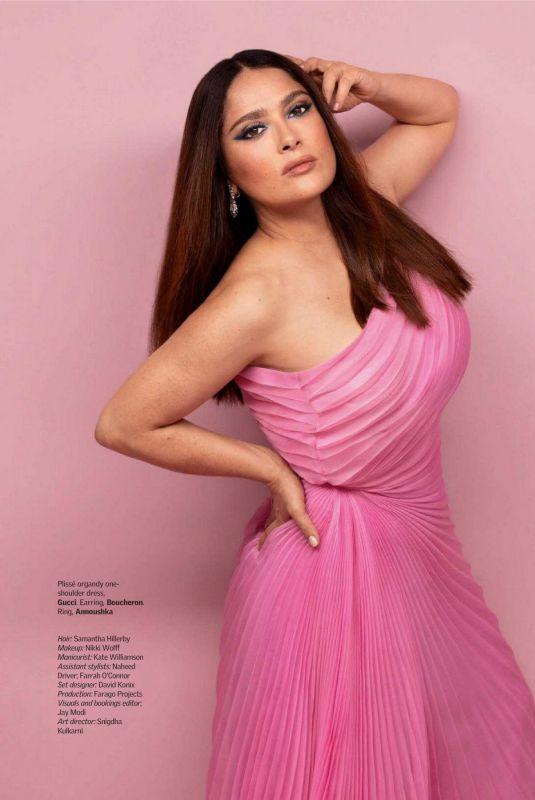 SALMA HAYEK in Vogue Magazine, India August 2021 Issue