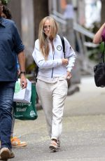 SARAH JESSICA PARKER Arrives on the Set of And Just Like That 08/04/2021