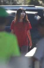 SARAH SHAHI Out in Los Angeles 08/02/2021