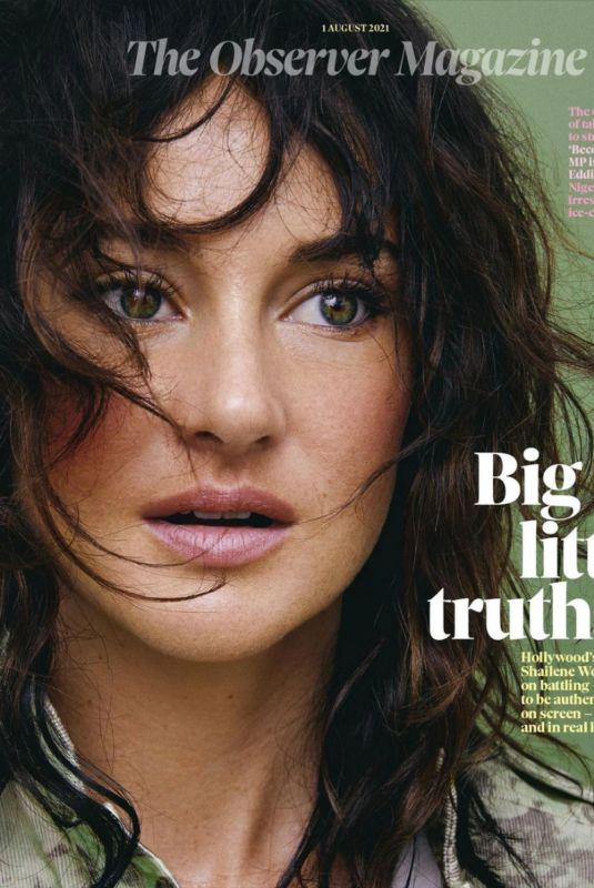 SHAILENE WOODLEY for Observer Magazine, UK August 2021