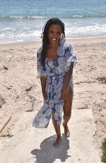 SHANOLA HAMPTON in Swimsuit at a Beach in Malibu 08/03/2021