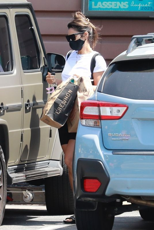 SHAY MITCHELL Out Shopping in Los Angeles 08/30/2021