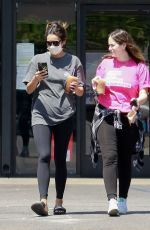SHAY MITCHELL Out with a Friend in Los Feliz 08/07/2021