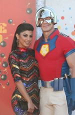 SHAY SHARIATZADEH and John Cena at The Suicide Squad Premiere in Westwood 08/20/2021