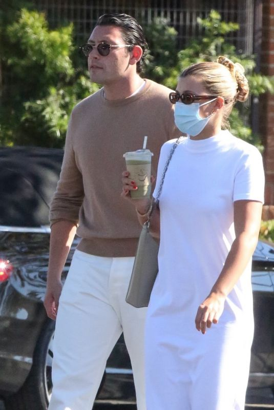 SOFIA RICHIE and Elliot Grainge Out in Malibu 07/31/2021
