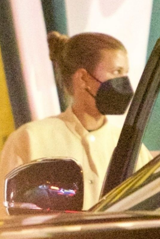 SOFIA RICHIE at San Vicente Bungalows in Los Angeles 08/26/2021