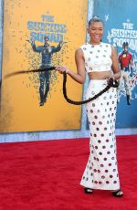 STORM REID at Suicide Squad Premiere in Los Angeles 08/02/2021