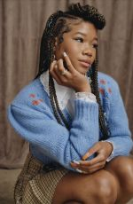 STORM REID for In The Know, August 2021