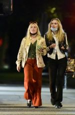 SUKI WATERHOUSE Night Out in Los Angeles 08/29/2021