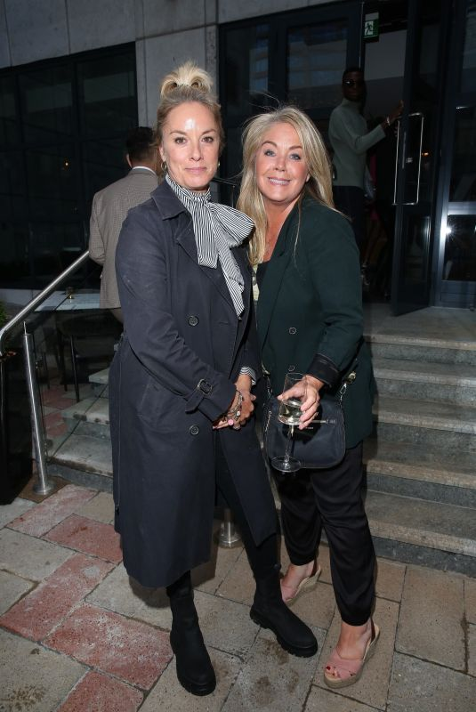 TAMZIN OUTHWAITE and LUCY ALEXANDER at Preview Dinner at New Six by Nico in Canary Warf in London 08/06/2021
