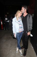 TARA REID and Nathan Montpetit-Howard Out in Hollywood 08/22/2021