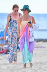 TEDDI MELENCAMP Out at a Beach in Laguna Beach 08/03/2021