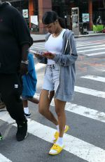 TEYANA TAYLOR on the Set of A Thousand and One in Harlem 08/04/2021