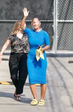 TRACEE ELLIS ROSS Arrives at Jimmy Kimmel Live! in Los Angeles 08/19/2021