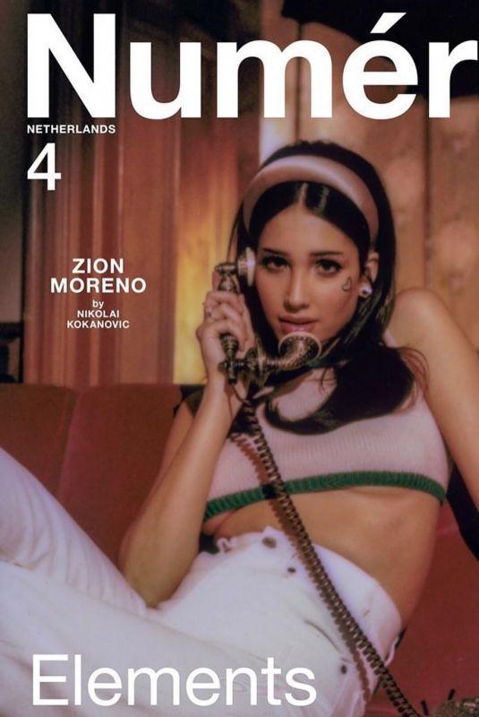ZION MOREN for Numero Magazine, 2021