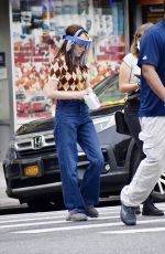 ZOEY DEUTCH on the Set of Not Okay in New York 08/04/2021