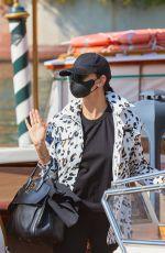 ADRIANA LIMA Arrives at 2021 Venice Film Festival 08/31/2021