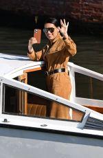 ADRIANA LIMA Arrives at 78th Venice International Film Festival 09/02/2021