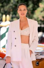 ADRIANA LIMA Out in Venice 09/03/2021