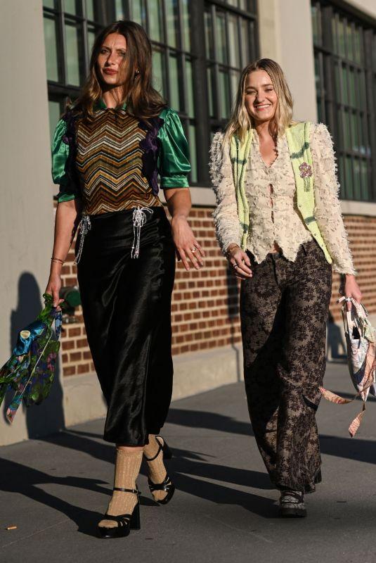 AJ and ALY MICHALKA at Collina Strada Show at New York Fashion Week 09/07/2021