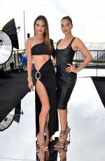 ALESSANDRA AMBROSIO and SHANINA SHAIK at Dundas x Revolve Runway Show in New York 09/08/2021