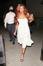 ALEXANDRA BURKE Leaves The One Show in London 09/07/2021