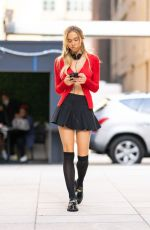 ALEXIS REN Out at New York Fashion Week 09/10/2021