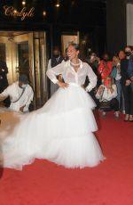 ALICIA KEYS Heading to Met Gala 2021 in New York 09/13/2021