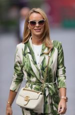 AMANDA HOLDEN Out in a Floral Jumpsuit in London 09/23/2021