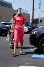 AMANDA KLOOTS Arrives at Dancing With The Stars Rehearsal in Los Angeles 09/07/2021