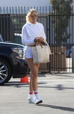 AMANDA KLOOTS Leaves Dancing With The Stars Studio in Los Angeles 09/16/2021