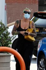 AMBER ROSE Out in West Hollywood 09/24/2021