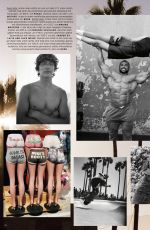AMBER VALLETTA for Vogue Magazine, Germany October 2021