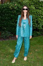 AMELIA HAMLIN at Bora Aksu Show at London Fashion Week 09/17/2021