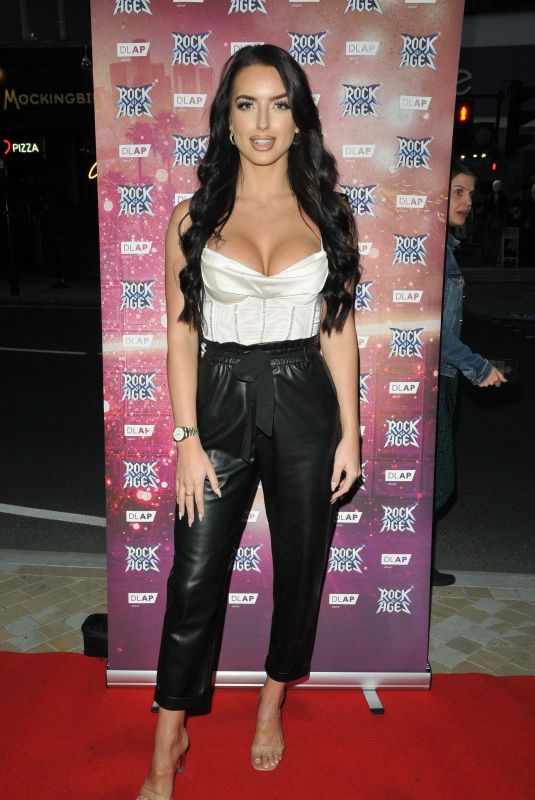 AMY DAY at Rock Of Ages VIP Performance in London 09/21/2021