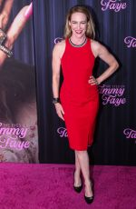 AMY HARGREAVES at The Eyes of Tammy Faye Premiere in New York 09/14/2021