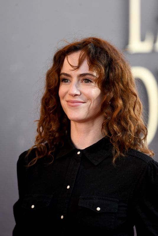 AMY MANSON at The Last Duel Premiere in London 09/22/2021