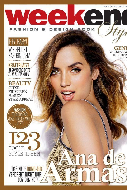 ANA DE ARMAS in Weekend Style Magazine, Autumn 2021