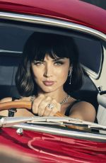 ANA DE ARMAS on the Set of Only Natural Diamonds For Moments Like No Other Campaign, September 2021