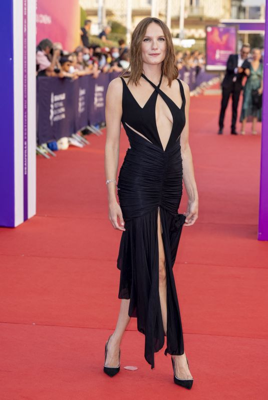 ANA GIRARDOT at Flag Day Screening at 47th Deauville American Film Festival 09/04/2021