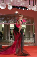 ANASTASIYA CHVALA at Mona Lisa and the Blood Moon Premiere at 78th Venice Film Festival 09/05/2021