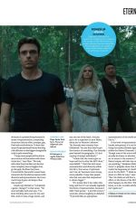 ANGELINA JOLIE and GEMMA CHAN in Total Film Magazine, October 2021