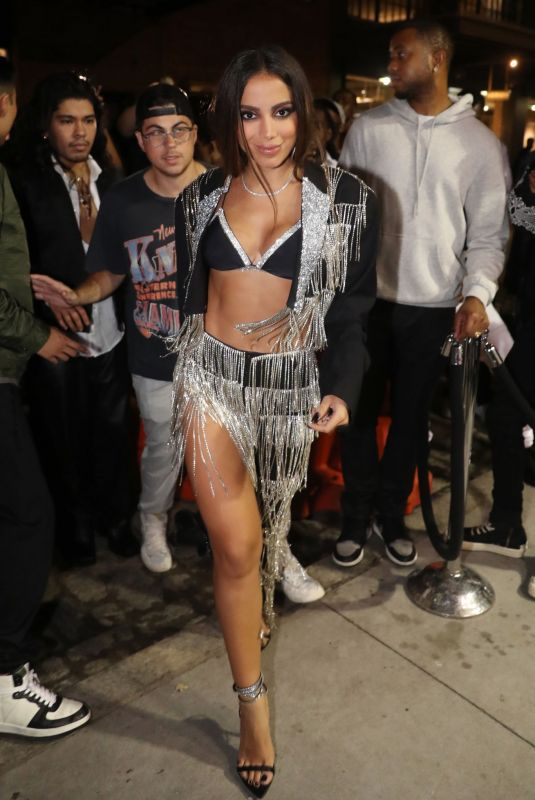ANITTA Arrives at Rihanna's Met Gala Afterparty in New York 09/13/2021