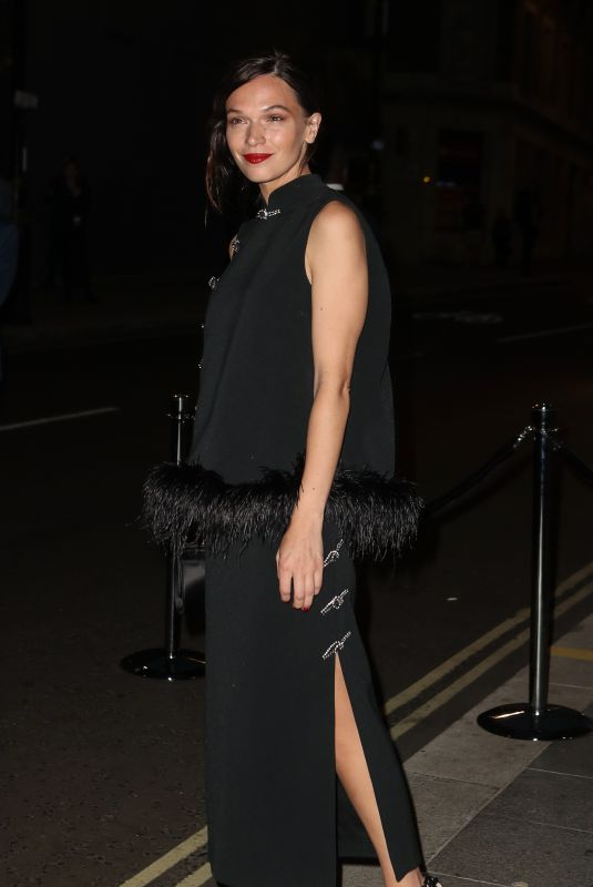ANNA BREWSTER at British Vogue and Tiffany & Co Celebrate Fashion and Film in London 09/20/2021