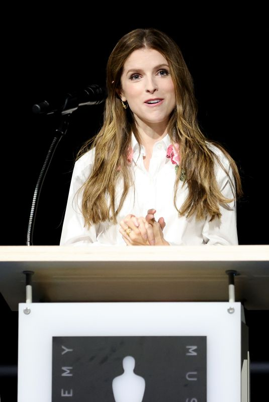 ANNA KENDRICK at Academy Museum Opening Press Conference in Los Angeles 09/21/2021