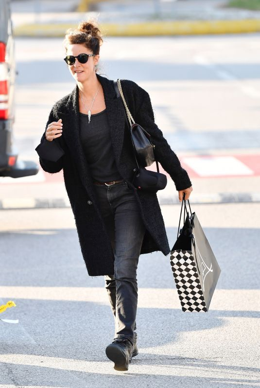 ANNA MOUGLALIS at Marco Polo Airport in Venice 09/02/2021
